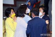 """국힘 """"'문정복·류호정 말다툼' 국회품격 추락…오십보백보"""""""