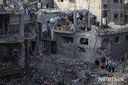 이스라엘, 가자지구 난민촌 폭격…어린이 8명 등 일가족 10명 사망