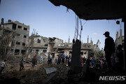 국제사회 휴전 압박에도… 이스라엘, 가자지구 공습 8일째 이어가