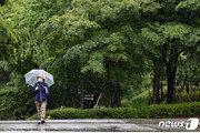 이번달 11일간 비 '주룩'…최고·최저 기온 찍고 '오락가락'