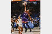2년 만에 보는 'WNBA 덩크슛'