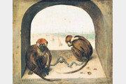 저항하지 않는 원숭이[이은화의 미술시간]〈166〉