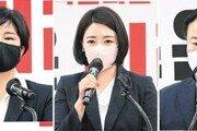 최고위원 선거, 상위 4명중 3명이 여성