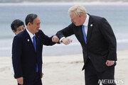 """스가 """"G7 정상 모두 도쿄올림픽 지지…마음 든든해"""""""