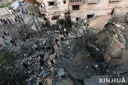 """이스라엘, 휴전 한달만에 가자지구 공습…""""'풍선 폭탄'에 대응"""""""