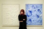 솔비, 미술작품 '플라워 프롬 헤븐' 경매서 2010만 원 낙찰