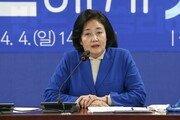 """박영선, 'CEO형 대통령론' 이준석에 """"국가는 회사 아냐"""" 비판"""
