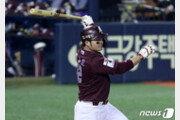 키움 박병호, 9년 연속 두 자릿수 홈런 달성…역대 20번째