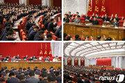 전원회의 마무리한 북한 김정은, 국무위원회 연주단 공연 관람