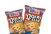 롯데제과, 어포 맛 단백질 스낵 '오잉포차 꾸이오잉칩' 출시