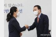 """국힘-국당, '사무처'도 합당 갈등…권은희 """"단가 후려치기 행태"""""""