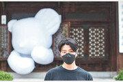 """""""곰 풍선 배달이오""""…팝아트 작가 임지빈 """"포근한 위안 받으세요"""""""
