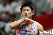 김국영 도쿄행 무산…육상 남자 100m 올림픽 기준 기록 통과 실패