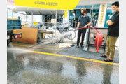 청주시, 전통시장에 매립식 소방함 설치