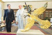 프란치스코 교황-블링컨, '평화와 구원' 바티칸 회동