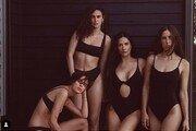 데미 무어, 세 딸과 수영복 화보…나이차 무색한 몸매