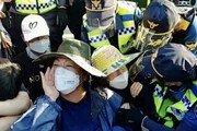 국방부, 성주 사드기지 물자 추가 반입 과정서 또 마찰