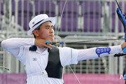[올림픽]김제덕, 올림픽 양궁 첫 3관왕 무산…개인전 32강 탈락