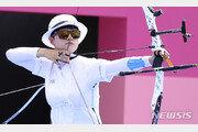 여자 양궁 안산, 한국 첫 올림픽 3관왕 향해 순항