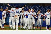 '양의지 끝내기'…韓야구, 연장 혈투 끝 이스라엘 잡고 1승