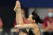 다이빙 김수지, 여자 선수 첫 결승행 아쉽게 불발
