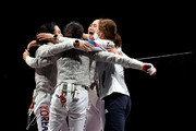 펜싱 여자 사브르 단체팀, 이탈리아 누르고 동메달 획득