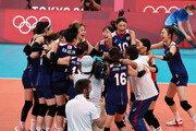 여자배구, 한일전 3-2 대역전 승리… 8강 진출 확정