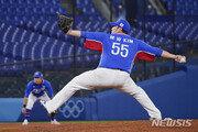 '홈런 경계령' 김민우, 2일 이스라엘전 선발 등판