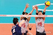 한일전 패배 여파인가…일본 여자배구, 충격의 예선 탈락