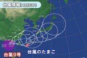 日 태풍 9·10호 동시에 몰려 온다…9일 동일본 태풍 영향권