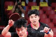 '중국의 벽' 남자 탁구, 준결승서 패배…銅 결정전으로