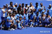 인도 남자하키 동메달, 41년 만에 메달 획득