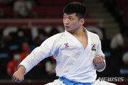 박희준, 가라테 가타 銅 결정전서 패배…메달 좌절