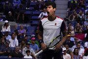 18세 알카라스, US오픈 테니스 역대 최연소 8강 기록