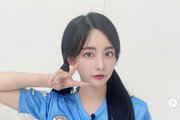 '피파 여신' 곽민선 아나, 수원삼성 선수와 열애설?
