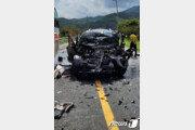 화순서 SUV 중앙선 침범해 승용차 버스 충·추돌…17명 사상