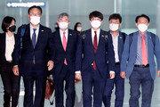 나란히 방미 길 오른 송영길-이준석… '대북 정책' 외교전