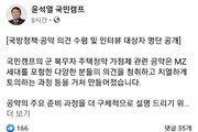 윤석열 측, 공약 설계 인터뷰 명단 공개…표절 논란 정면 대응