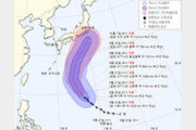 태풍 '민들레' 日오키나와 해상 접근…도쿄 남쪽으로 향할듯