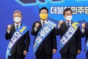 """이재명, 전북서 16%P差 승리… 이낙연측 """"2,3차 슈퍼위크 반전"""""""