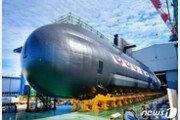 'SLBM 탑재' 세번째 3000톤급 국산 잠수함 '신채호함' 진수