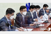 """與, '언론법' 징벌적 손배, 열람차단 청구권 고수…""""오늘 반드시 처리"""""""