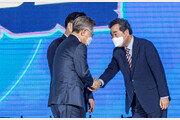 """이재명 """"경인 전철·고속도로 지하화""""…이낙연 """"소상공인에 40조 재정 지원"""""""