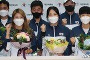 이쯤이면 신궁… 양궁 대표팀, 세계선수권 싹쓸이 하고 금의환향
