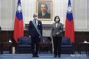 """차이잉원 총통, 프랑스 의원단 접견…""""대만, 지역 평화에 주력"""""""