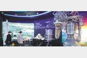 21일 발사될 누리호… 75톤 액체로켓 실물