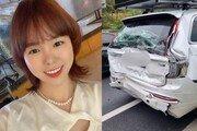 유튜버 '하준맘' 25톤 트럭에 받혔다…박지윤 가족 차량과 같은 '볼보'