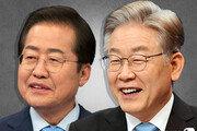 홍준표, '호감도' 44%로 1위…이재명 42%, 윤석열 40%