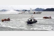 불법조업 외국 어선 단속 종합훈련