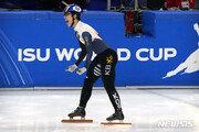 쇼트트랙 황대헌, 월드컵 1차 1000m 金…김지유 銀